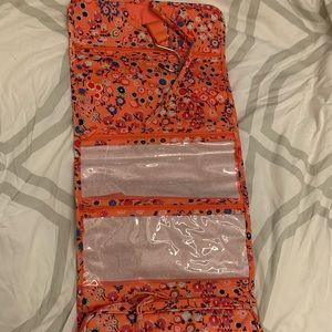 BOGO:Vera Bradley cosmetics hanger&carrying-on bag